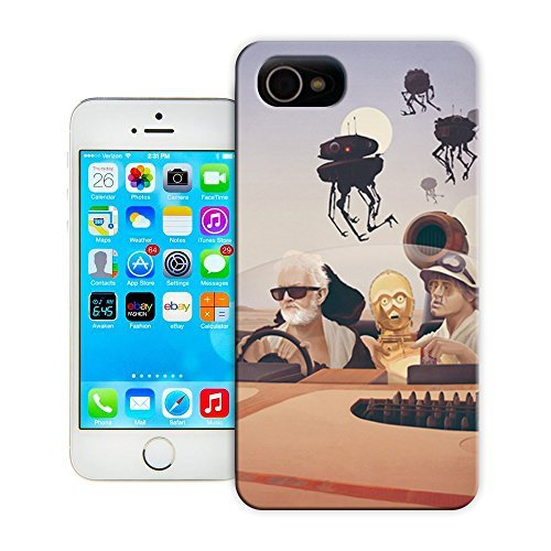 Yishucase-Fear and Loathing on Tatooine durable top Hard Cover for iPhone 4/4S case