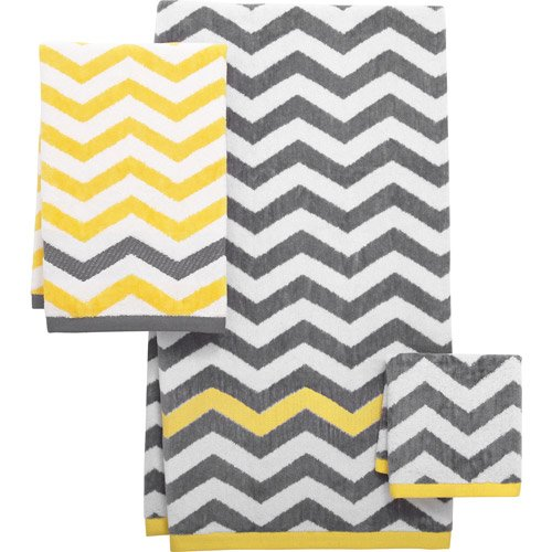 chevron decorative bath collection
