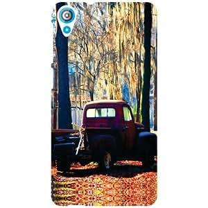 HTC Desire 820 Back Cover - Matte Finish Phone Cover