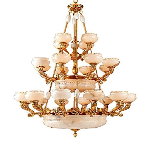 amarillo-dorado-todo-cobre-lampara-lamparas-de-arana-iluminacion-techo-lampara-lampara-de-marmol-bla