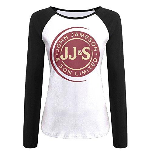 fantastic-girls-jameson-irish-wiskey-jjs-logo-raglan-long-sleeves-black-baseball-tee