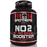 Nitric Oxide Supplements NO2 Booster Pre Workout with Fermented L-Arginine Increase Muscle Pumps Blood Flow Energy Strength Endurance Vascularity - 120 Veggie Capsules L-Citrulline