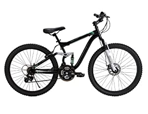 Huffy 26-Inch Ladies DS-7 Dual Suspension Bike (Black) by Huffy