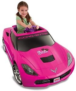 Fisher-Price Power Wheels Barbie Corvette