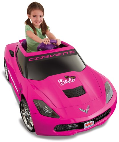 Power Wheels Barbie Corvette