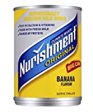 Nurishment Banana Flavour Milk Drink 400 g (Pack of 12)