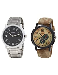 Relish Analog Round Casual Wear Watches For Men Combo - B01ANCDOWK