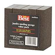 Ali Ind. 380180 Do it Best All-Purpose Sanding Sponge-80G SANDING SPONGE