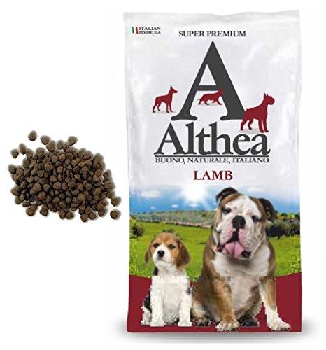 Althea Lamb 2,5 kg - Crocchette monoproteiche all'agnello per cani adulti di taglia media e grande, naturali al 100%
