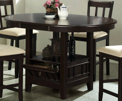 Dining table dining table storage base for Dining table shelf
