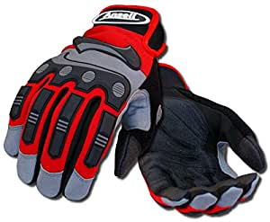 Ansell ProjeX 97-975 Heavy Duty Impact Work Glove, Large (Pack of 1 Pair)