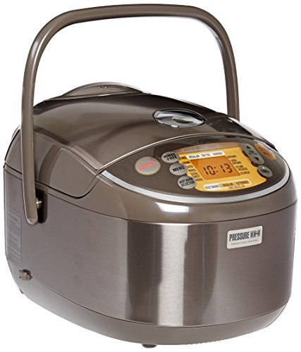 Zojirushi NP-NVC18 Induction Heating Pressure Cooker (Uncooked) and Warmer, 10 Cups/1.8-Liter by Zojirushi (Zojirushi Induction Pressure compare prices)