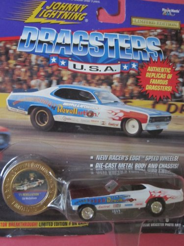 Johnny Lightning Famous Dragsters 71 Revellution Ed Mcculloch Limited Edition - 1