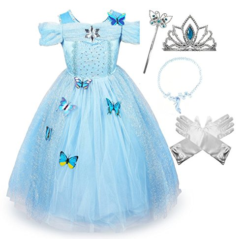 Cinderella Party Costume with Accessories