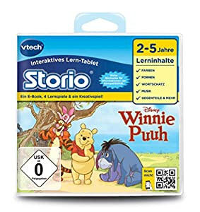 VTech Disney Winnie Puuh, Lernspielkassetten