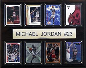 NBA Michael Jordan Chicago Bulls 8 Card Plaque by C&I Collectables