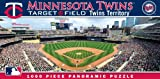 MasterPieces MLB Minnesota Twins Stadium Panoramic Jigsaw Puzzle, 1000-Piece at Amazon.com