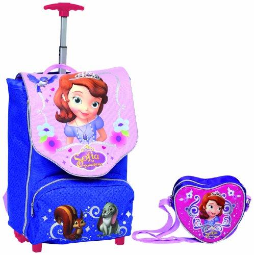 Giochi Preziosi - Principessa Sofia Zaino Trolley Deluxe con Gadget