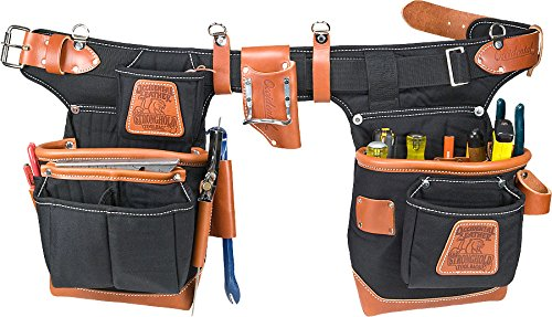 Occidental Leather 9850 Adjust-to-FitTM Fat LipTM Tool Bag Set - Black (Tool Belts Occidental Leather compare prices)