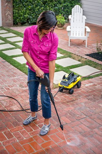 The Karcher Promise: Cleaner. Quicker. The Only Four-Wheel Pressure Washer Available