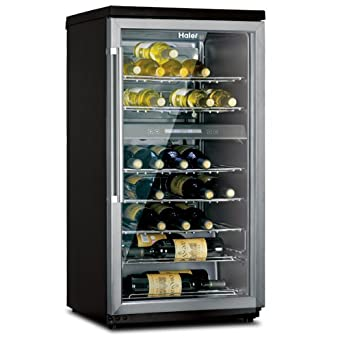 haier hvz040abh 40 bottle dual zone wine. Black Bedroom Furniture Sets. Home Design Ideas