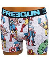 Freegun - Avenger noir/trq boxer - Sous vêtement boxer
