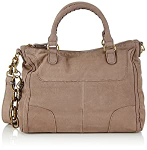 Liebeskind Berlin Noelle Nabuck Top Handle Bag,Mouse Grey,One Size