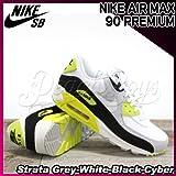 NIKE(ナイキ) エアマックス プレミアム AIR MAX 90 PREMIUM Strata Grey-White-Black-Cyber/メンズ(men's) 靴 スニーカー(333888-018)