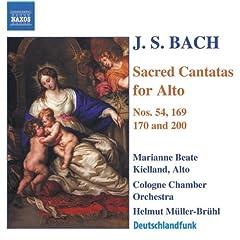 Widerstehe doch der Sunde, BWV 54: Aria: Wer Sunde tut, der ist vom Teufel (Alto)