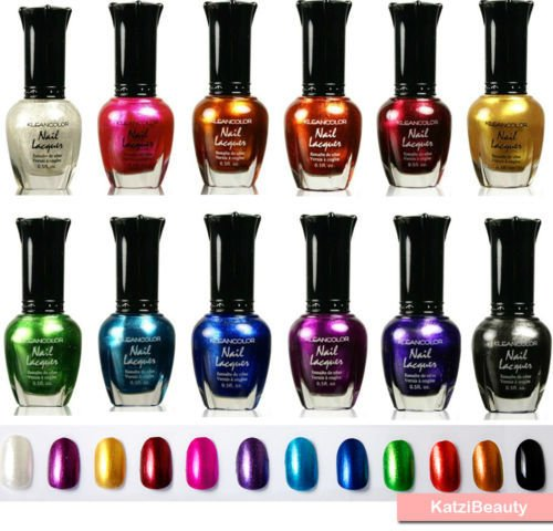 kleancolor-nail-polish-metallic-colors-nail-lacquers-12-pcs-set