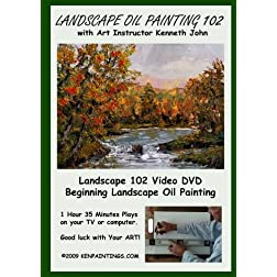 Landscape Oil Painting 102