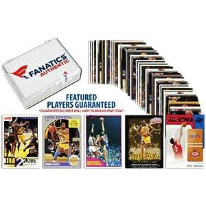 Los Angeles Lakers Team Trading Card Block 50 Card Lot - Memories - Mounted Memories... by Sports Memorabilia