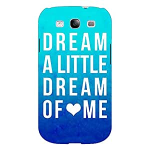 Jugaaduu Dream Love Back Cover Case For Samsung Galaxy S3 Neo