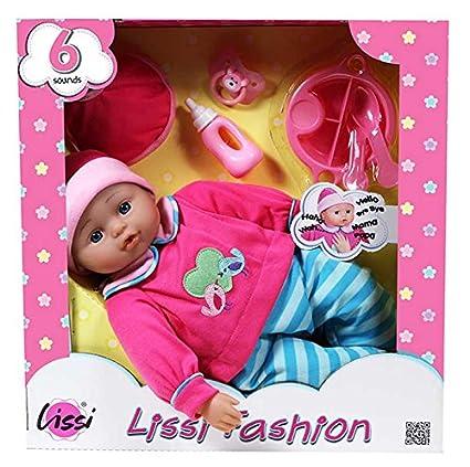 Lissi Dolls - A1502476 - Bébé 6 Sons - 40 Cm Et Accessoires