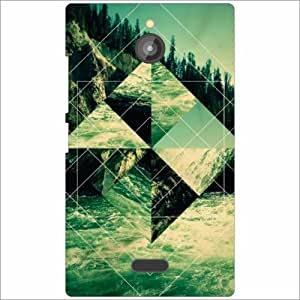 Nokia X2 Back Cover - Sign Symbols Designer Cases