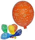 Toy - 5 tlg. Set Luftballons - Schulanfang ABC Schult�ten - Ballon Schulbeginn Kindergeburtstag Party Geburtstag Vorschule Schuleinf�hrung Buchstaben Schule