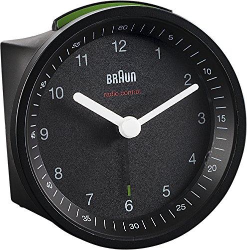 Braun BNC007 Funkwecker, schwarz