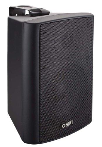 Osd Audio Ap525 Black 5.25-Inch Indoor Or Outdoor 120-Watt Patio Speaker Pair