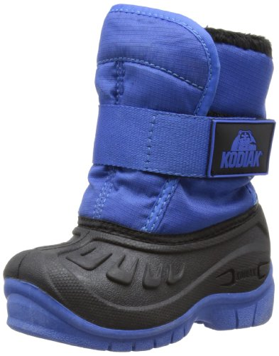 Kodiak Unisex-Child Sammie Boots 818617 Black/Blue 9 UK Child, 24 EU, 6 USChild