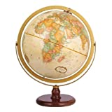 リプルーグル地球儀/球径30cm/ワールド・クラシック・シリーズ ラ・グレンジ型 英語版