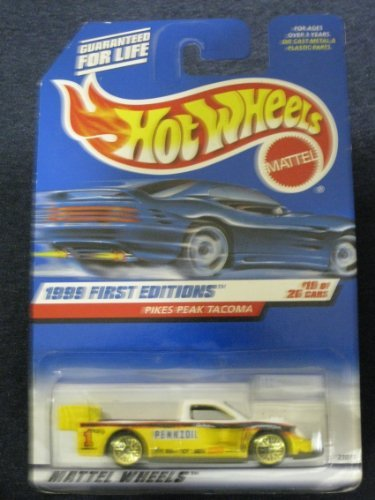 Hot Wheels Pikes Peak Tacoma - 1999 1st Editions #19 of 26 Vehicles Collector #924 - 1