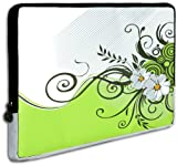 51Rk%2BlooQ6L. SL160  Green Floral Garden Carrying Case Sleeve fit Apple MacBook 13 and 13   14 inch Notebook Laptop Computer