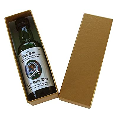 MacDonald - The Scottish Clan - Single Malt Whisky Miniature (5cl) in Gift Box from Just Miniatures
