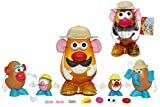 Playskool - Kit Mr. Potato Safari, incluye cuerpos y 40 accesorios (Hasbro)
