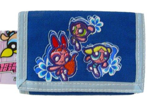Cartoon Network Powerpuff Girls Trifold wallet - Blue [Apparel]