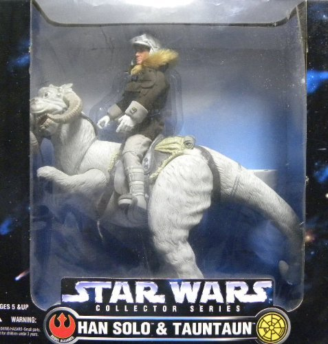 Buy Low Price Kenner Huge 1997 Kenner Star Wars Han Solo & Tauntaun 12 inches Figure Set (B0036LXVI8)