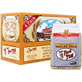 Bob's Red Mill Gluten Free Old Fashioned Rolled Oats, 32-ounce (Pack of 4)
