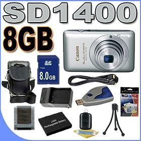 SDM-161 Charger SDCGAS005 Battery Panasonic Lumix DMC-FX01 Digital Camera Accessory Kit Includes KSD2GB Memory Card