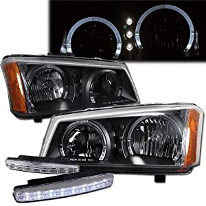 2005 chevy silverado 1500 halo led headlights. Black Bedroom Furniture Sets. Home Design Ideas