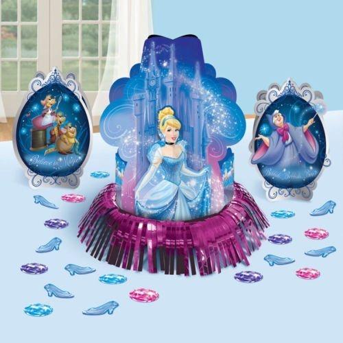 Disney Princess Cinderella Birthday Party Favor Table Centerpiece Decoration Kit